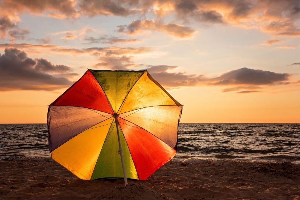 Parasol, voile et paravent